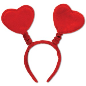 headband with hearts on it